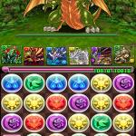 【パズドラ攻略】森羅の塔 緑の守護龍 ドラパ&バステトでクリア!