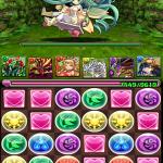 【パズドラ攻略】クローノス大密林 秘境への入り口&楽園の妖精クリア!