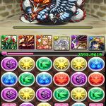 【パズドラ攻略】レア・テミス寺院 神を冠する龍 クリア!
